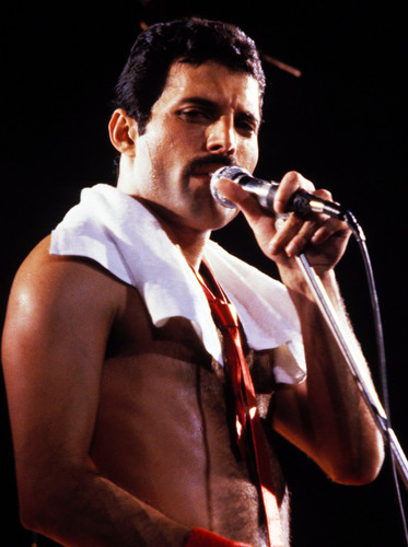 Freddie on stage ♥