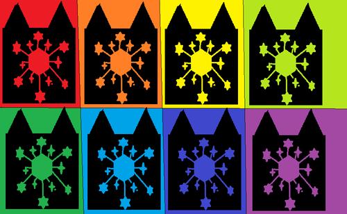FrostyClan wallpaper entitled Frostyclan w/ colors!!