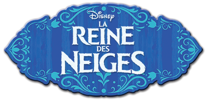 La Reine des Neiges Official Logos