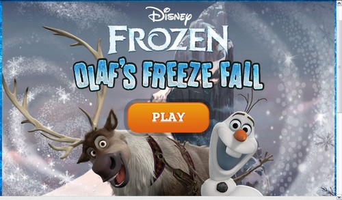 Frozen - Olaf's Freeze Fall