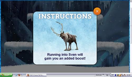 Frozen - Olaf's Freeze Fall