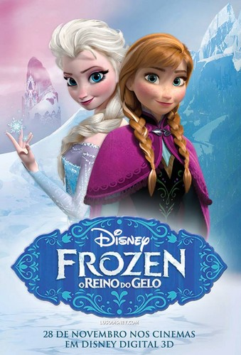 Frozen Portuguese Poster (Fan made)
