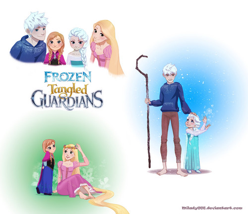 Frozen - Tangled - Guardians