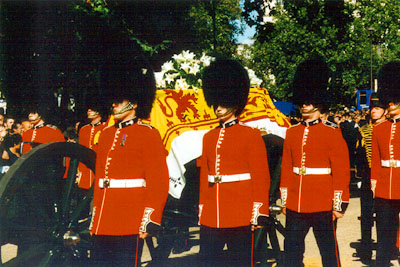 Funeral Services For Princess Diana Back In 1997