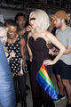 Gaga at NYC Pride Rally on June 28 (By Terry Richardson) - lady-gaga photo