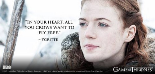 Game of Thrones wallpaper containing a portrait titled GOT QUOTE