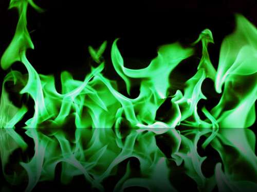 cinderela wallpaper titled GREEN fogo