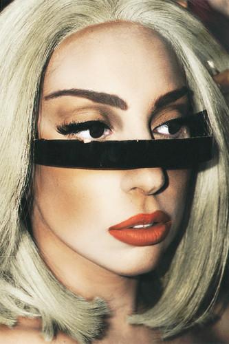 Gaga at NYC Pride (Edit on Terry Richardson's Photo)