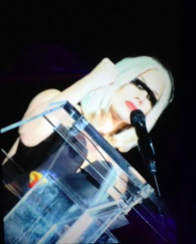 Gaga at NYC Pride Rally