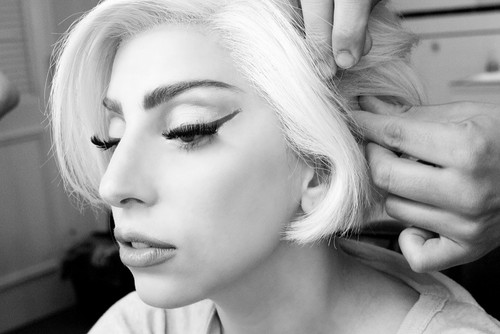Gaga by Terry Richardson: Gaga in glam #4