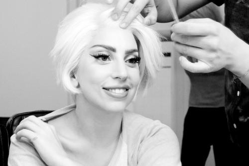 Gaga kwa Terry Richardson: Gaga in glam #5