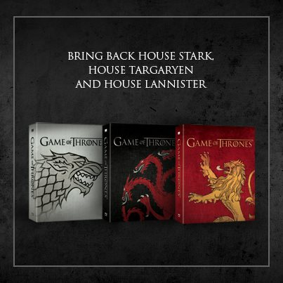 Game of Thrones - Season 3 DVD/Blu-ray