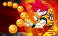 Goku ssj god - dragon-ball-z wallpaper