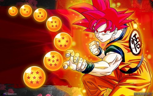 Dragon Ball Z wallpaper called Goku ssj god