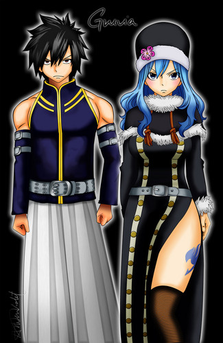 Gray Fullbuster & Juvia Lockser