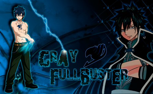 Fairy Tail Wallpaper Titled Gray Fullbuster