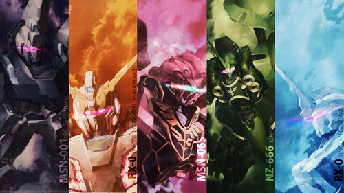 Gundam fondo de pantalla called Gundam all of my foto