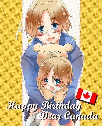 Happy Birthday Canada!~ <3
