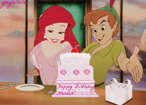 disney crossover fondo de pantalla probably with anime titled Happy Birthday, hannahgrace96!