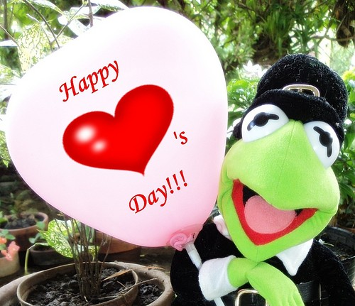 Happy Heart's Day! Mwaaaaaah!