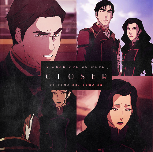 Avatar: The Legend of Korra wallpaper containing anime titled Iroh & Asami
