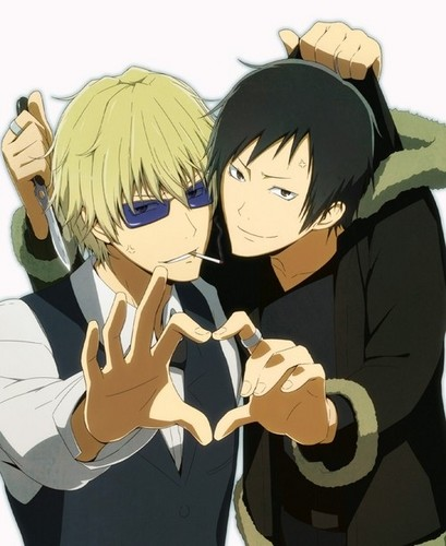 Yaoi images Izaya and Shizuo (Durarara!!) wallpaper and ...