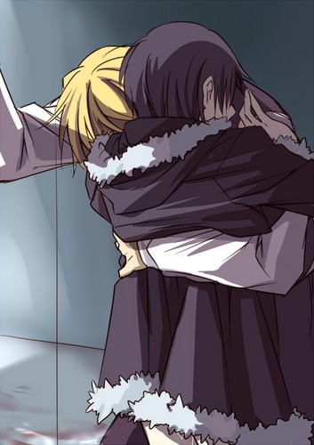 Izaya and Shizuo (Durarara!!)