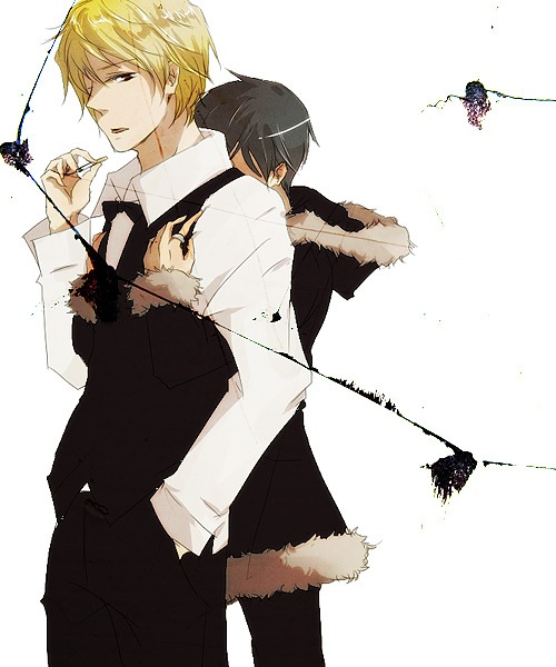 Izaya and Shizuo (Durarara!!) - Yaoi Fan Art (34826429 ...