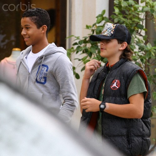 Jaafar Jackson and his cousin Prince Jackson ♥♥