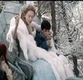 Jadis makes Edmund his Turkish Delight. - the-lion-the-witch-and-the-wardrobe photo