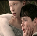 Jadis makes Edmund look at the fox.