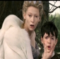 Jadis reminds Edmund which side he is on.