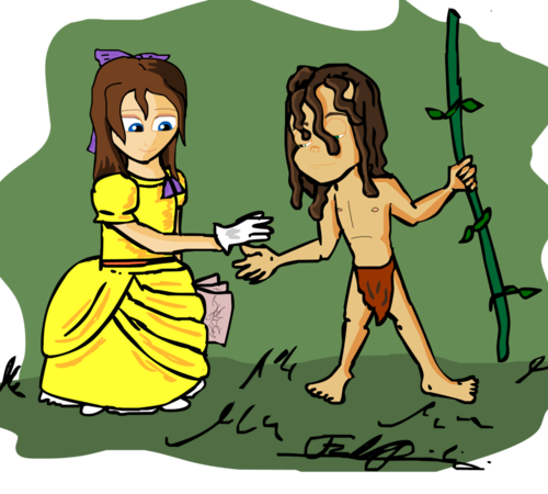 Jane Porter karatasi la kupamba ukuta containing anime called Jane and Tarzan