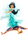 Walt 迪士尼 图片 - Princess 茉莉, 茉莉花