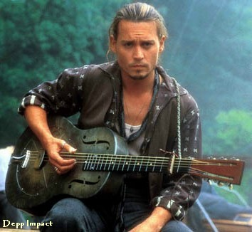Johnny Depp as Roux (Chocolat)