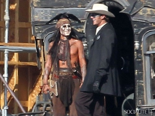 "Johnny Depp as Tonto (""The Lone Ranger"")"
