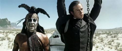 "Johnny Depp as Tonto (""The Lone Ranger"")"