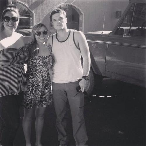 Josh with some 팬 [06.26.2013]