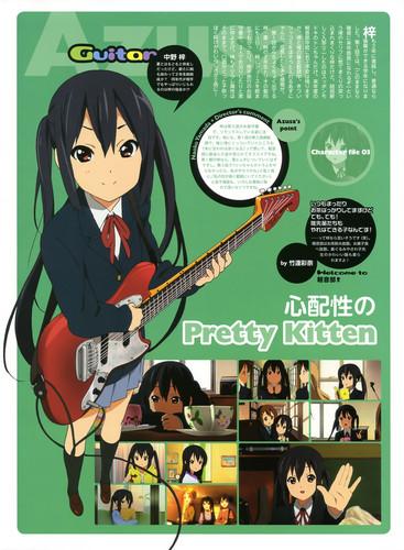 """K-On! Character File: """"Pretty Kitten"""""""