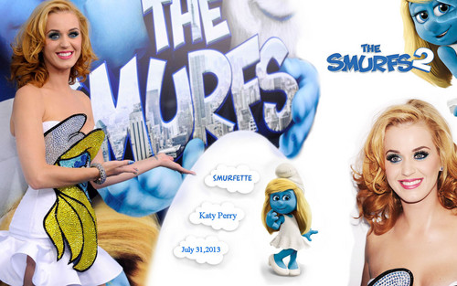 Katy Perry The Smurfs 2
