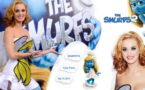 Katy Perry The Smurfs 2