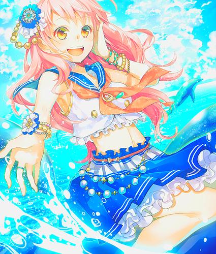 Kawaii Аниме girls