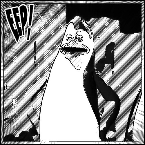 "Kowalski:D ""fan girl scream"""