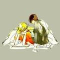 Kyoya and Tamaki (Ouran)