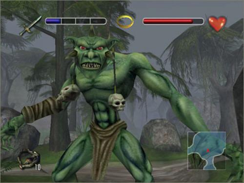 LOTR: Fellowship of the Ring (video game) screenshot