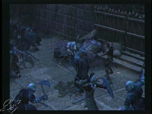 LOTR: The Two Towers (video game) screenshot