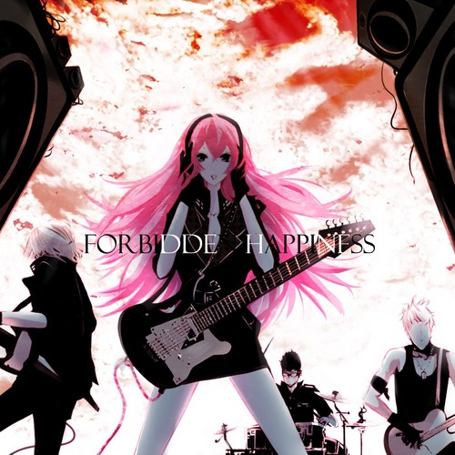 Megurine Luka wallpaper possibly with a guitarist titled LUKA MEGURINE