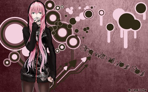 Megurine Luka wallpaper titled LUKA