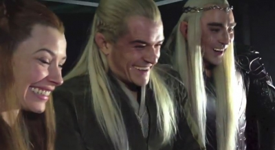 Legolas - fan Reaction Desolation Smaug Trailer