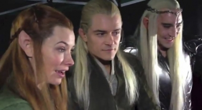 Legolas - peminat Reaction Desolation Smaug Trailer
